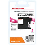 Cartouche jet d'encre Office Depot Compatible Brother LC225XL Magenta