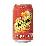 Schweppes Agrum Canette   24 Unités de 330 ml