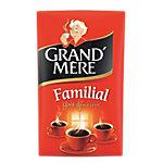 Café moulu Caféiné Moulu Non décafeiné Grand'Mère Familial   250 g