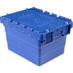 Bac navette Polypropylène 44 Viso 60 x 40 x 25 cm Bleu