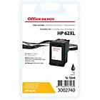 Cartouche jet d'encre Office Depot Compatible HP 62XL Noir C2P05AE