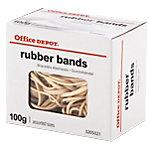 Élastiques en caoutchouc Office Depot 120 x 1,5 mm 120 mm Naturel   100 g