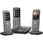 Téléphone Fixe Gigaset CL660A Trio Sans fil Avec répondeur Noir