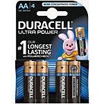 Piles alcalines Duracell Ultra Power AA 4 Unités