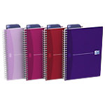 Cahier Oxford Office My Style spirale A5 180 pages 5x5
