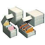 Boîte à fiches Nobo Val Rex 19 x 21,3 x 17,3 cm Gris