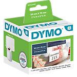 Rouleau d'étiquettes DYMO LabelWriter LW 54 x 70 mm Blanc   320 Unités
