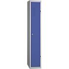 Vestiaire Industrie Propre 1 colonne   Elément départ 300 x 500 x 1800 mm Bleu