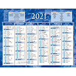 Calendrier semestriel Bouchut 2020 13,5 x 17,5 cm