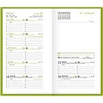 Agenda Plancher Nature 1 Semaine sur 2 pages 2019 Marron