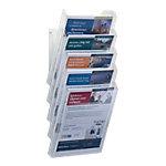 Présentoir modulable DURABLE Combiboxx A4 portrait Transparent 242 (l) x 259 (P) x 288 (H) mm Transparent 5 Unités