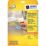 Étiquettes Avery L6057 20 Jaune 280 étiquettes