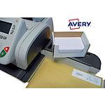 Étiquettes d'affranchissement Avery 11 823 Blanc 45 x 175 mm 500 Feuilles de 2 Étiquettes