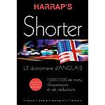 Dictionnaire anglais français Harrap's 275 (H)  x  195 (l)  x  195 (P) mm Noir