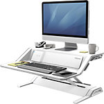 Plate Forme de Travail Assis Debout Fellowes Lotus DX 831,8 x 615,9 x 139,7 mm Blanc