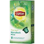 Capsules de thé vert Marrakech Mint Lipton   10 Unités