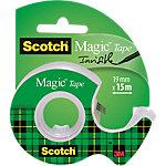 Ruban adhésif sur dévidoir Scotch Magic Transparent