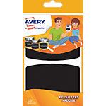 Étiquettes Avery Ardoise Noir 10 étiquettes