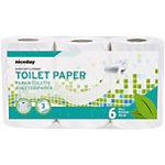 Papier toilette NICEDAY PROFESSIONAL Standard 3 épaisseurs   6 Rouleaux de 200 Feuilles
