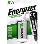 Piles rechargeables Energizer Power Plus 9V