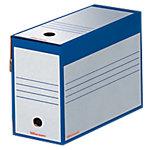 Boîte d'archives Office Depot 24,5 (H) x 16,7 (l) cm Bleu   25 Unités