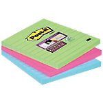 Notes adhésives Post it 101 x 101 mm Assortiment   3 Unités de 70 Feuilles