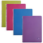 Cahiers à spirale Clairefontaine Linicolor Intense A4 5 x 5 Assortiment   90 Feuilles