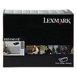 Toner Lexmark D'origine X651H11E Noir