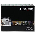 Toner D'origine T650A11E Lexmark Noir
