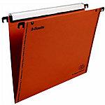 Dossiers suspendus pour tiroirs Esselte 49965 Orange 10 Unités