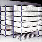 Elément de départ pour rayonnage simple accès Acier 150 (L) x 36 (l) x 200 (H) cm