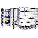 Rayonnage pour 238 boîtes   élément départ + 7 tablettes 150 (L) x 70 (l) x 200 (H) cm