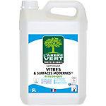 Nettoyant écologique pour vitres et surfaces modernes L'ARBRE VERT Sans allergènes   5 L