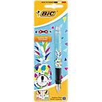 Stylo plume BIC X Pen Bleu