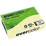 Ramette de 500 feuilles A4 80g couleur Canari Clairefontaine papier recyclé Evercolor