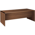 Bureau droit Director 2 050 x 850 x 750 mm Imitation Noyer