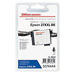 Cartouche jet d'encre Office Depot Compatible Epson 27XXL Noir T279140
