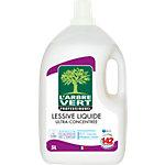 Lessive liquide L'ARBRE VERT Saluble dans l'eau   5 L
