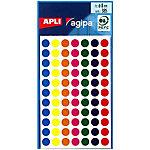 Pastilles adhésives APLI Apli Assortiment 385 étiquettes