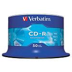 CD R enregistrable Verbatim 700 Mo 52x 50 Unités