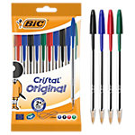 Stylo à bille BIC Cristal Assortiment   10