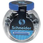 Cartouches d'encre Schneider Bleu   100
