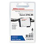 Cartouche jet d'encre Office Depot Compatible Epson 27XL Noir T271140