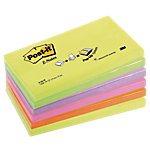 Notes adhésives Post it 127 x 76 mm Assortiment   6 Unités de 100 Feuilles