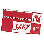 Agrafes Rapid Jaky 6   1000 Agrafes
