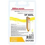 Cartouche jet d'encre Office Depot Compatible HP 364XL Jaune CN687EE