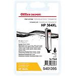 Cartouche jet d'encre Office Depot Compatible HP 364XL Noir CB322EE