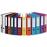 Classeur à levier Office Depot Plasticolor 50 mm Carton 2 Anneaux A4 Assortiment 10 Unités