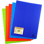 Protège documents soudé Exacompta Forever PP Polypro recyclé 20 pochettes A4 Assortiment