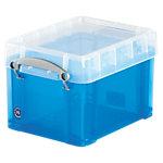 Boîte de rangement Really Useful Boxes 3 L UB3LCBL 16 (H) x 18 (l) cm Bleu